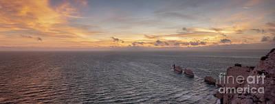 Photograph - Sunset Past The Needles Panoramic by Clayton Bastiani
