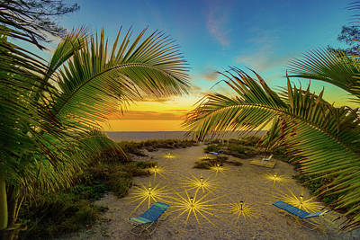 Photograph - Anna Maria Island Sunset by Rolf Bertram