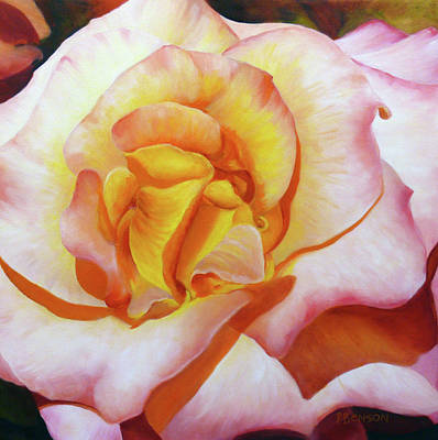 Painting - Sunset Rose by Patricia Benson