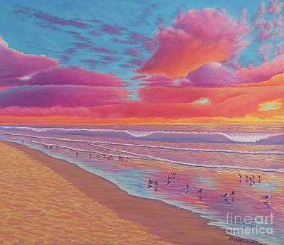 Painting - Sunset Shore by Elisabeth Sullivan