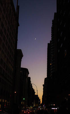 Photograph - Sunset Silhouette In The City by Traci Asaurus