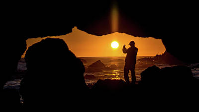 Photograph - Sunset Silhouette by Jack Peterson
