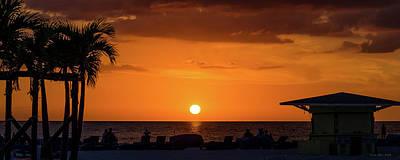 Photograph - Sunset - St Pete Beach 2 by Frank Mari
