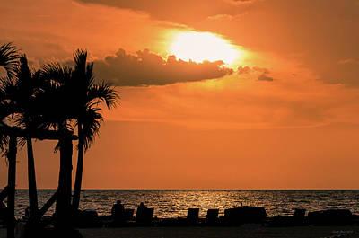 Photograph - Sunset - St Pete Beach by Frank Mari