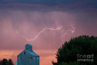 Photograph - Sunset Storm by Carol Groenen