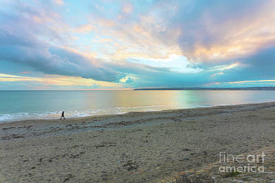 Photograph - Sunset Stroll At Mounts Bay by Terri Waters