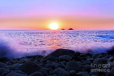 Photograph - Sunset Tide by Terri Waters