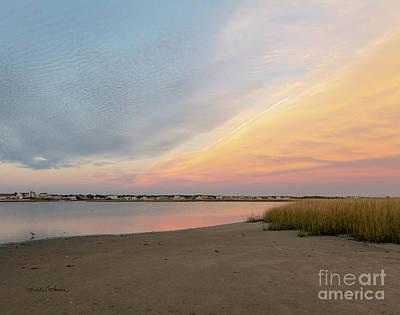Photograph - Sunset West Dennis Cape Cod by Michelle Constantine