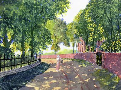 Sunshine And Shadows Art Print