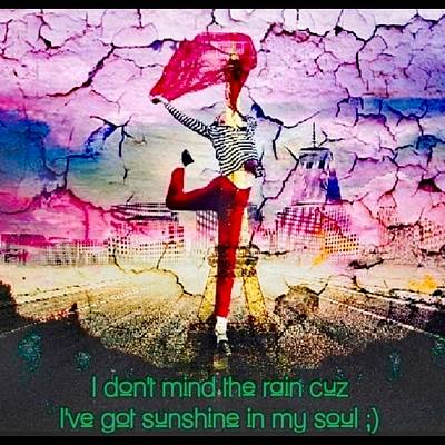 Wall Art - Digital Art - Sunshine In My Soul by Love Infusion