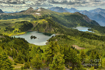 Photograph - Sunshine Meadows Overlook by Adam Jewell