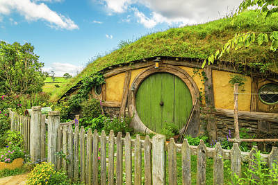 Photograph - Sunshine Over Hobbiton by Racheal Christian