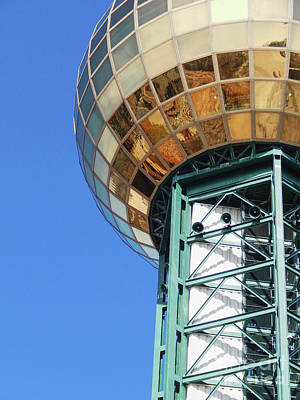 Photograph - Sunsphere In Knoxville, Tn by Phil Perkins