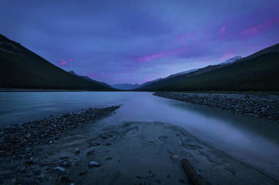 Photograph - Sunwapta River by Dan Jurak