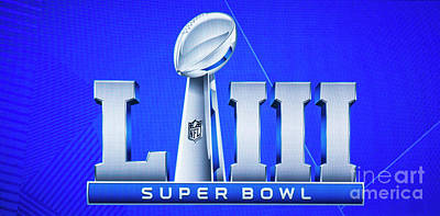 Royalty-Free and Rights-Managed Images - Super Bowl 2019 Atlanta L111 Art by Reid Callaway