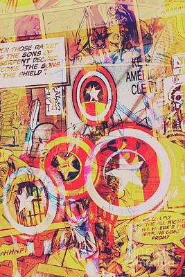 Pop Art Photos - Super hero design by Jorgo Photography - Wall Art Gallery