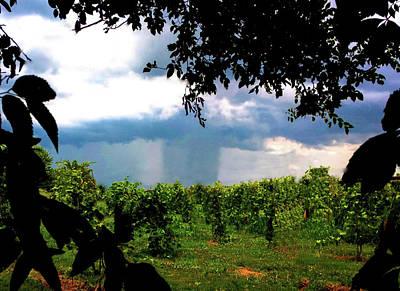 Photograph - Supercell Rain Shaft by Jeff Kurtz