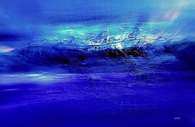 Painting - Superstorm At Sea by VIVA Anderson