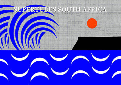 Royalty-Free and Rights-Managed Images - Supertubes Jefferys Bay South Africa by David Lee Thompson
