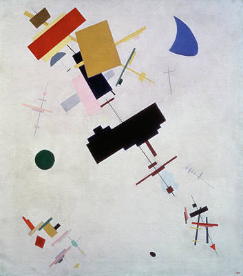 Painting - Suprematism Number 56 By Kazimir by Superstock