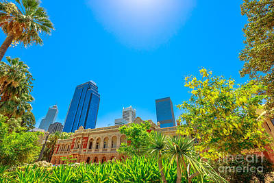 Photograph - Supreme Court Gardens Perth by Benny Marty