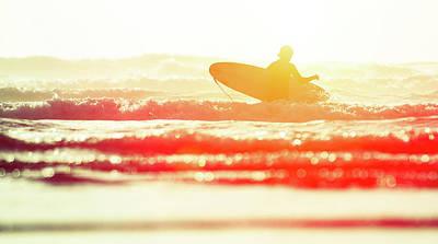 Photograph - Surf & Sun by Paul Mcgee