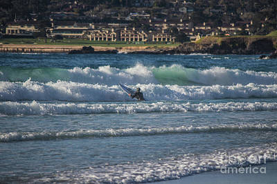 Photograph - Surfer In The Sea by Sheila Skogen