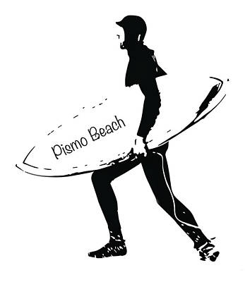 Photograph - Surfer Pismo Beach by John McGraw