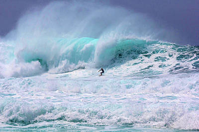Photograph - Surfing The Pipeline Hawaii - They Were by Julie Thurston