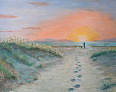 Painting - Surfside Beach Too by Mike Jenkins