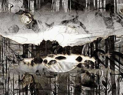Surrealism Digital Art - Surreal Scapes by Mario Carini