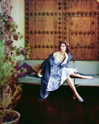 Photograph - Suzy Parker In Sophie Original by Henry Clarke