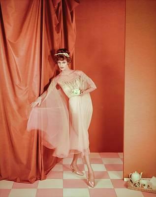 Photograph - Suzy Parker In Van Raalte by Henry Clarke