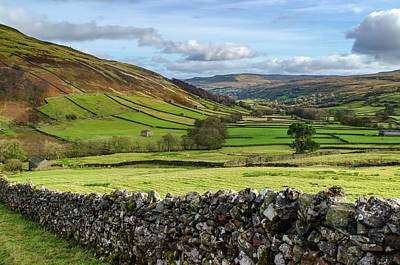 Mixed Media - Swaledale  by Smart Aviation