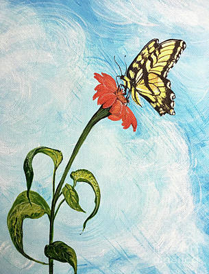 Painting - Swallowtail 85 by Lizi Beard-Ward