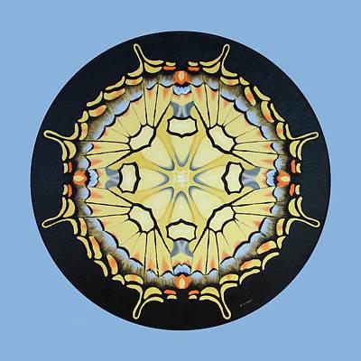 Painting - Swallowtail Mandala by Betsy Gray