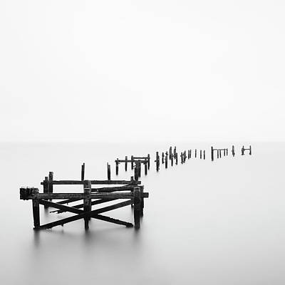 Tranquility Photograph - Swanage Pier by Doug Chinnery