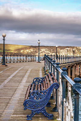 Photograph - Swanage Pier by Framing Places