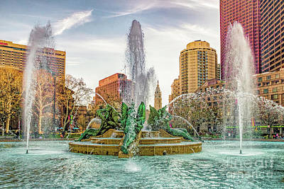 Photograph -  Swann Memorial Fountain by Nick Zelinsky