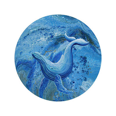 Painting - Swayback Humpback by Darice Machel McGuire