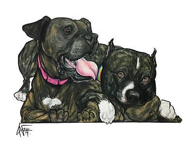 Drawing - Sweeney 4592 by John LaFree