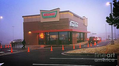 Photograph - Sweet Morning Fog - Krispy Kreme by Frank J Casella
