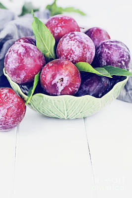 Photograph - Sweet Plums by Stephanie Frey