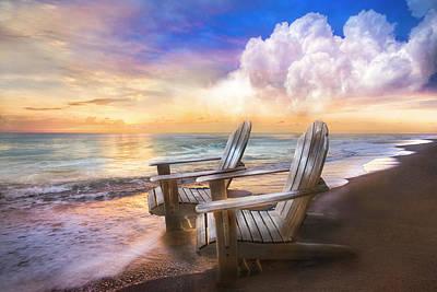 Photograph - Sweet Sunrise Dreams by Debra and Dave Vanderlaan