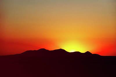 Photograph - Sweetgrass Hills At Dusk by Todd Klassy