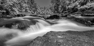 Photograph - Sweetwater Creek Infrared Bw by Keith Smith