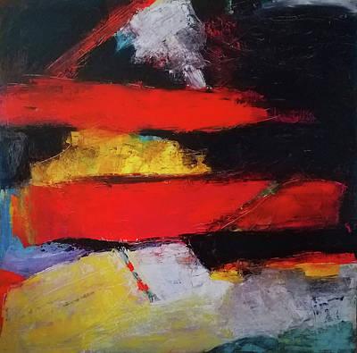 Painting - Swept Through by Evy Olsen Halvorsen