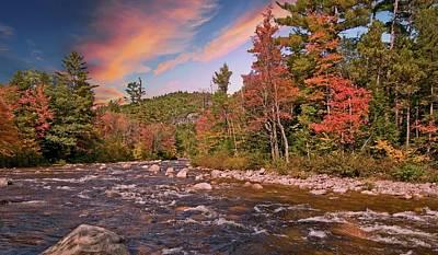 Photograph - Swift River Autumn by Paul Mangold