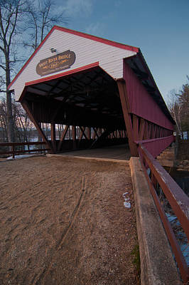 Photograph - Swift River Bridge by Paul Mangold