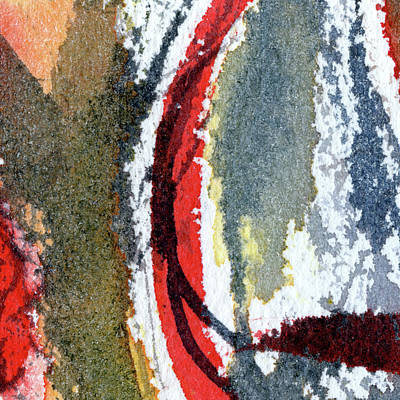 Painting Royalty Free Images - Swing - Abstract Painting Royalty-Free Image by Susan Porter